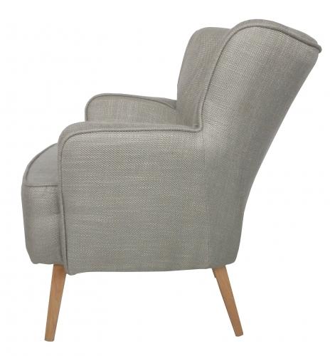 Fien armstoel heerlijke kleine relaxchair keuze uit vele exclusieve stoffen - Romantische fauteuil ...