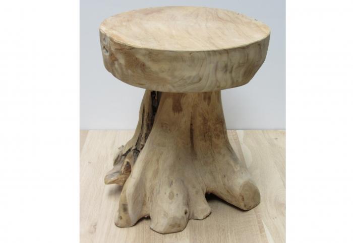 Van boomstronk tot bijzettafel sloophout bijzettafel timmermuis - Designer koffietafel verkoop ...